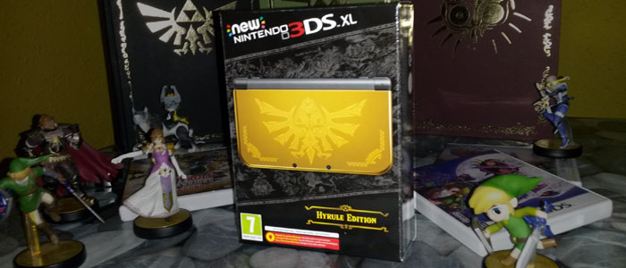 Unboxing de la New Nintendo 3DS Hyrule Edition