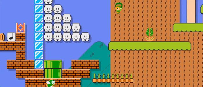 Recrean The Wind Waker con Super Mario Maker