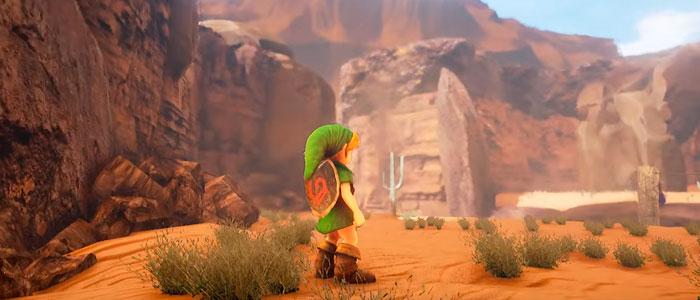 Desierto Gerudo en Unreal Engine 4