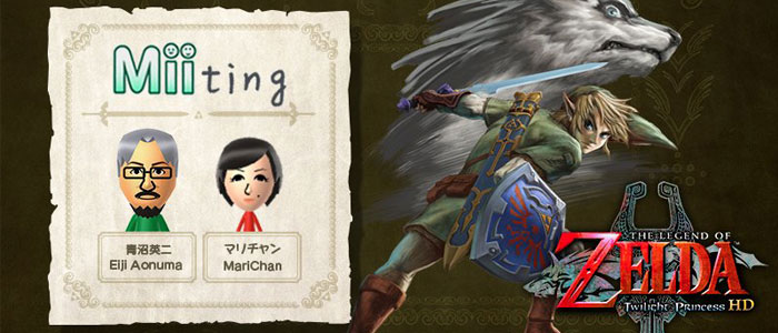 Aonuma habla sobre Twilight Princess HD en Miiverse