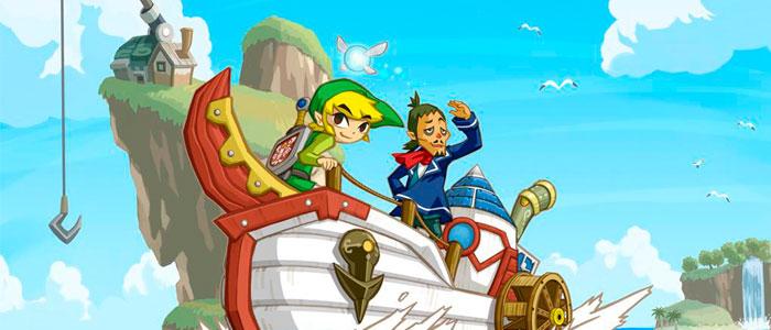 The Legend of Zelda: Phantom Hourglass llega a Wii U en los USA