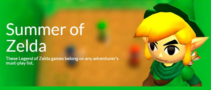 El Verano de Zelda en la eShop