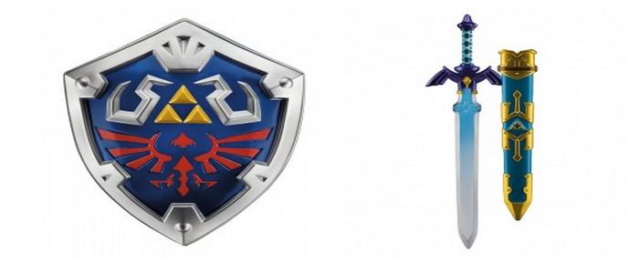 Reserva réplicas oficiales de la Espada Maestra y el Escudo Hyliano