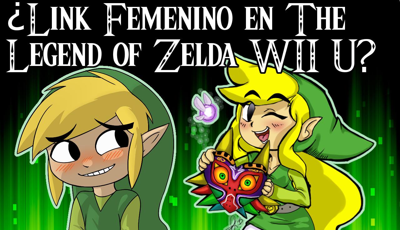 ¿Link Femenino en el Zelda de Wii U? Opinión en vídeo