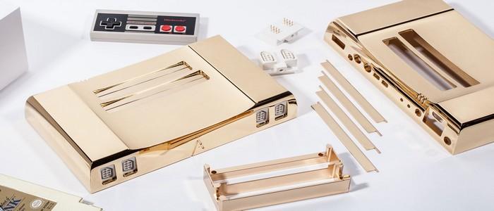 NES de 24 kilates valorada en 4.999$ en honor al 30 aniversario de Zelda