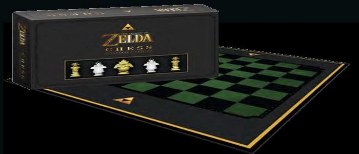 USAopoly lanzará al mercado un juego de ajedrez de Zelda oficial