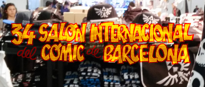 Merchandising Zelda en el 34 Salón del Cómic de Barcelona