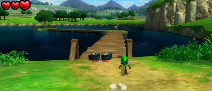 El Lago Hylia en Sonic Lost World