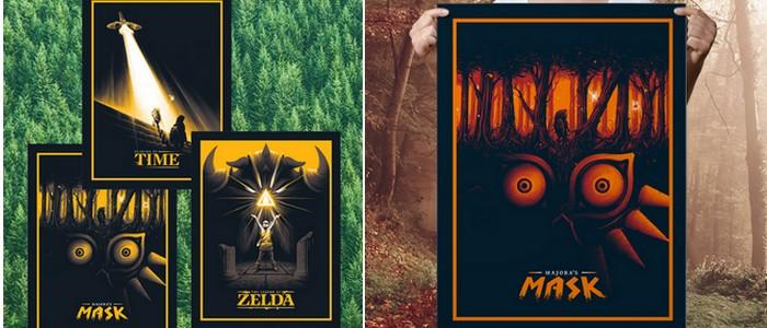 Posters de The Legend of Zelda en The Yetee