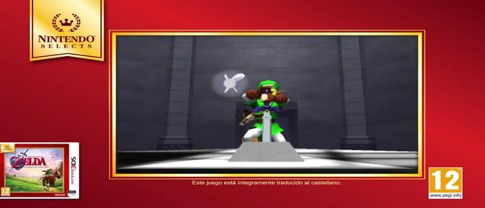 Oficialmente a la venta hoy, Ocarina of Time 3D en Nintendo Selects
