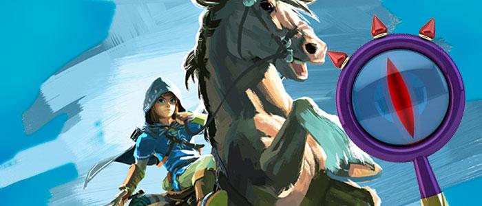 Análisis del artwork de Link en Epona