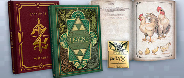 Legend of the Hero, un libro con encanto