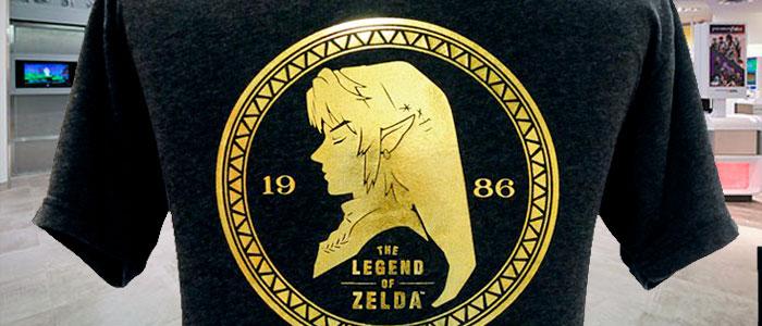 Camiseta de Link exclusiva en Nintendo NY