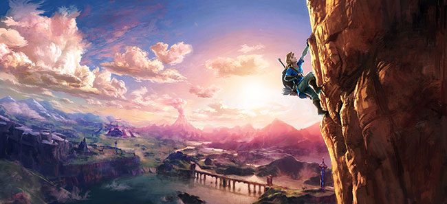 Las habilidades de Link para moverse por el mundo de Breath of the Wild
