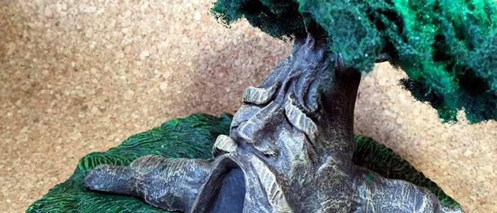 Escultura del Gran Árbol Deku