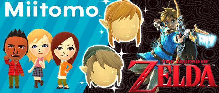 Zelda U en Miitomo