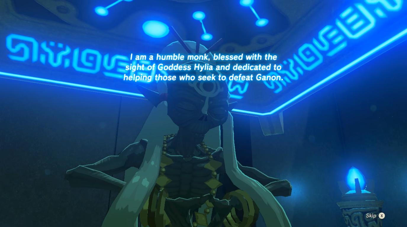 Mostrada habilidad magnética de Link en el Santuario de Omán Au en Breath of the Wild