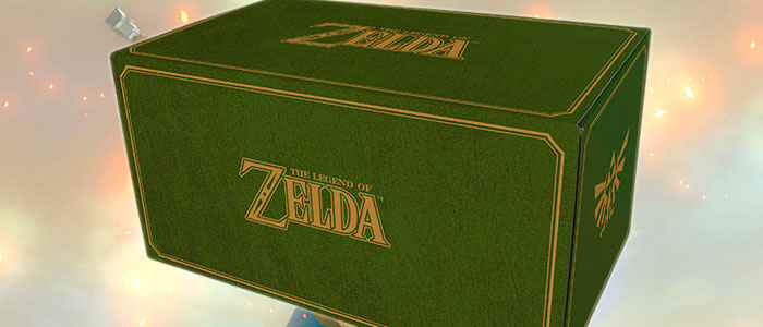 Unboxing de la Zelda Mystery Box