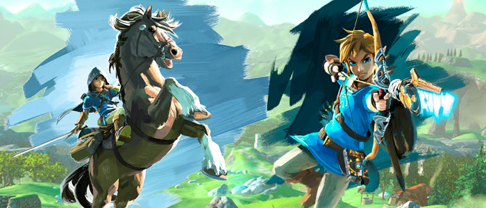 Nuevos artwork de Breath of the Wild