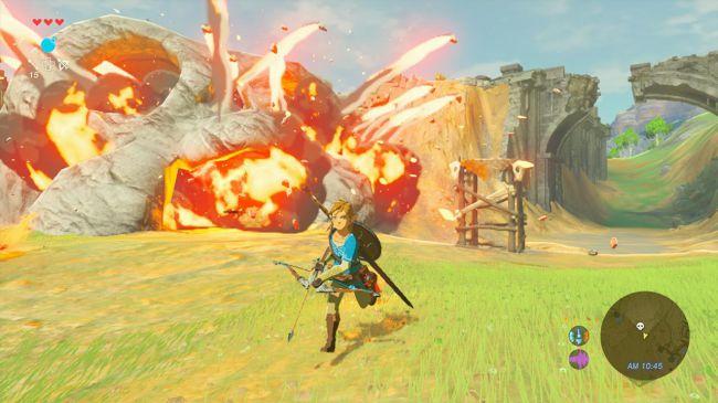 GamesRadar otorga a Breath of the Wild el premio de mejor juego presentado durante el E3 2016