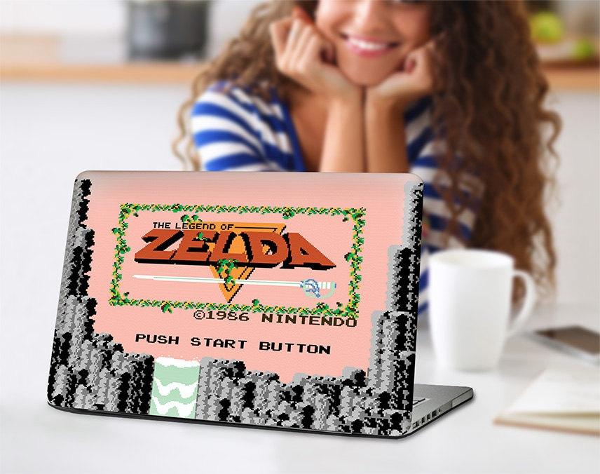 Personaliza tu ordenador portátil con carcasas de Zelda