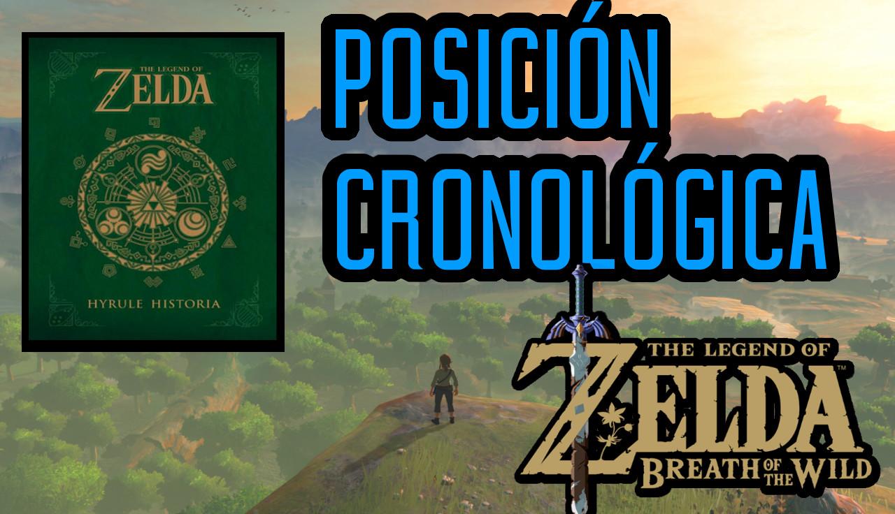 La posición cronológica de Zelda Breath of the Wild (Vídeo)