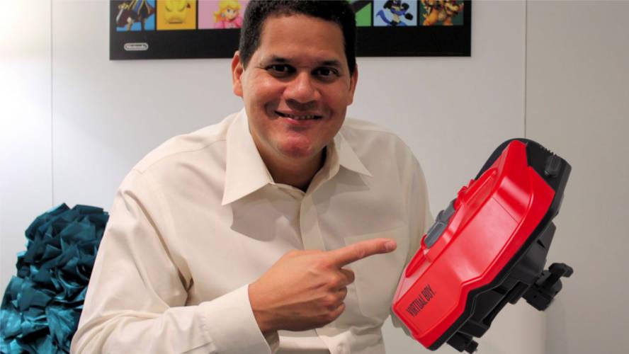Reggie Fils habla de la Realidad Virtual en Nintendo