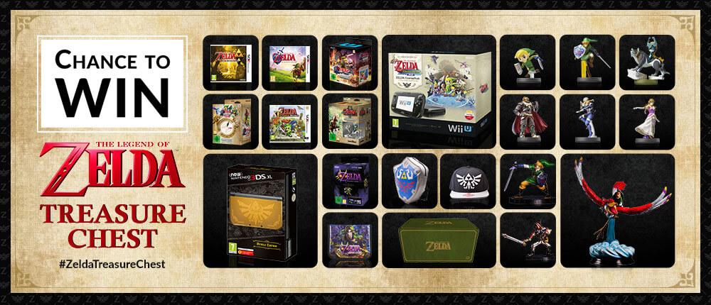 Mega sorteo de Zelda en Nintendo UK
