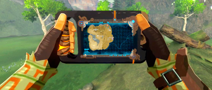 El tamaño del mapa en Breath of the Wild