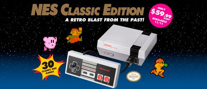 Nuevos datos de la Nintendo Classic Mini