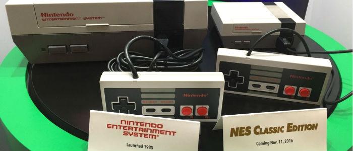 Nintendo muestra la NES mini