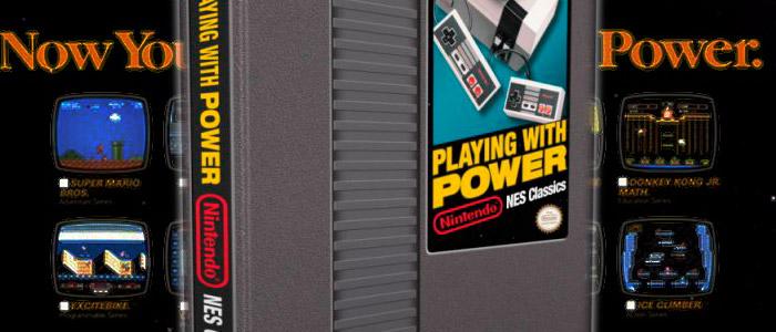 Playing with Power: el libro sobre NES