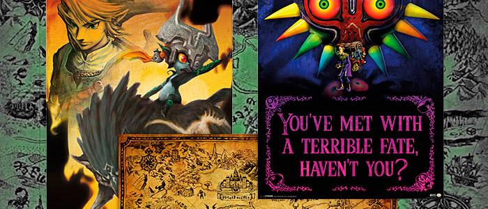 Posters de Zelda en ThinkGeek