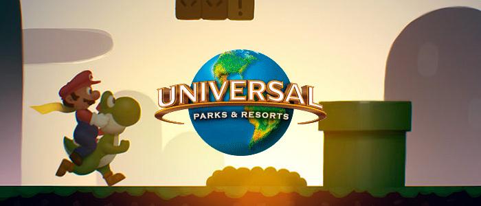 Super Mario en el Parque Universal de Japón