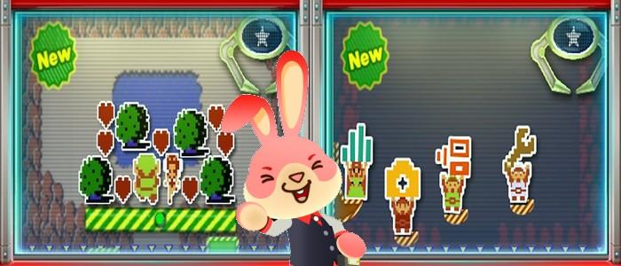 Nuevas pegatinas Zelderas en Nintendo Badge Arcade de los USA