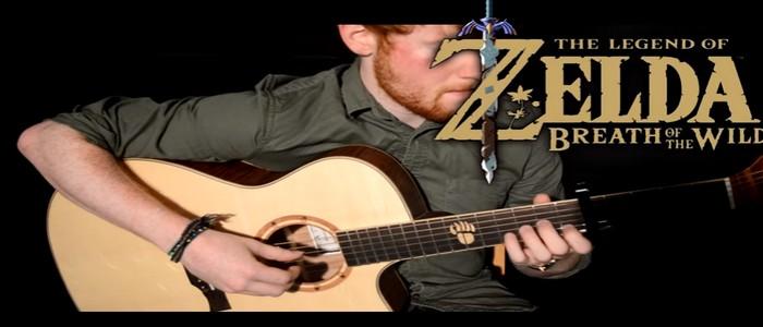 Otra genial versión con guitarra acústica de la melodía de Zelda: Breath of the Wild