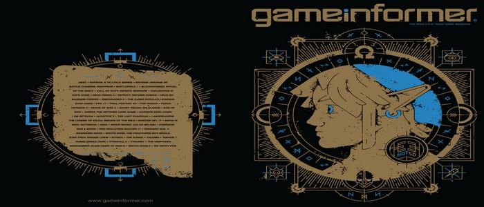 Portada con Link de Breath of the Wild en la revista de GameInformer