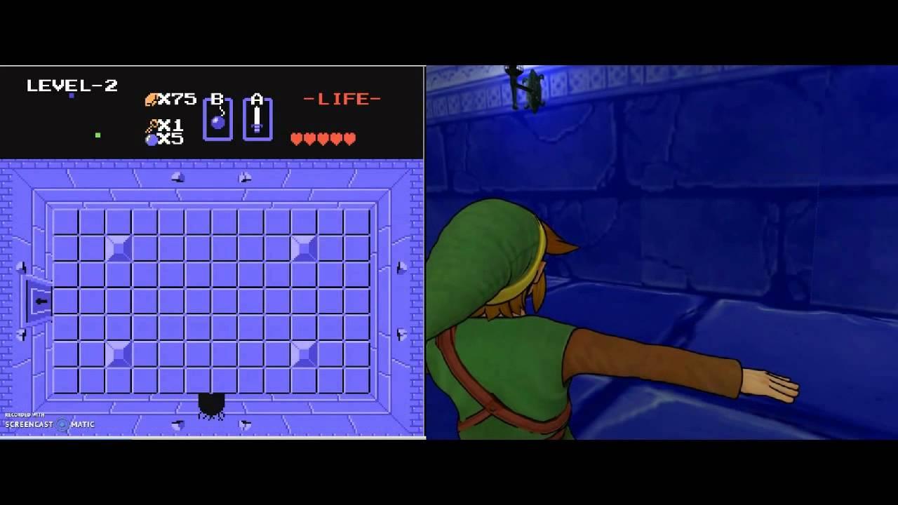 Primera mazmorra de The Legend of Zelda Project 3D