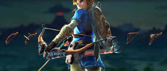 Armas, escudos y armaduras en Breath of the Wild