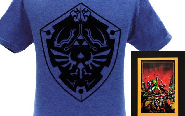 Nueva camiseta del Escudo Hyliano en la Nintendo NY Store