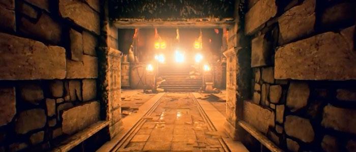 Templo de Fuego en Unreal Engine 4