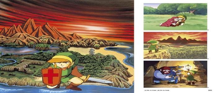 Se muestran por primera vez tres páginas del Hyrule Graphics