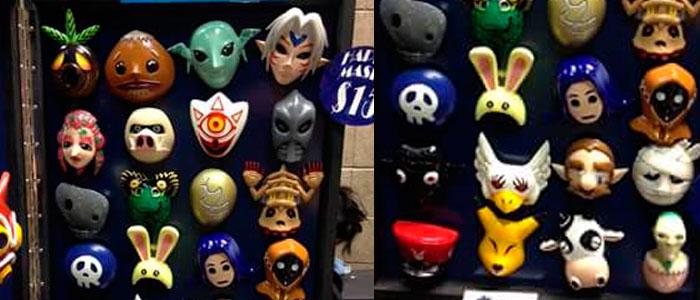 Consigue las Máscaras de Majora
