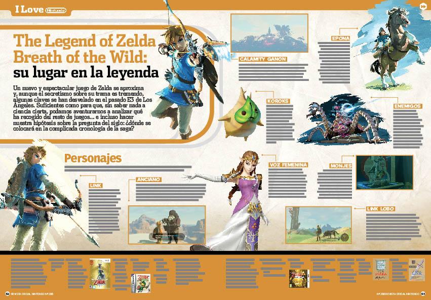 Pagina Zelda Revista Nintendo Nº288 Universo Zelda