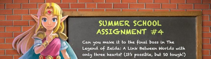 Summer School Challenge de A Link Between Worlds