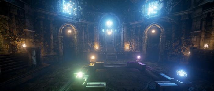 El Templo del Bosque de Ocarina of Time en Unreal Engine 4