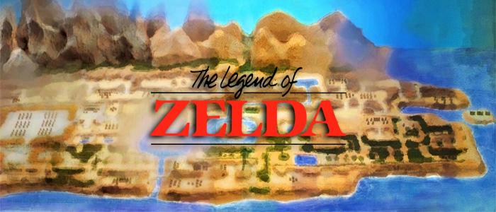 Interpretaciones del mapa de Zelda I en 16 bits