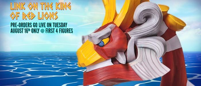 El 16 de agosto se abre la reserva para la figura de Mascarón Rojo en F4F