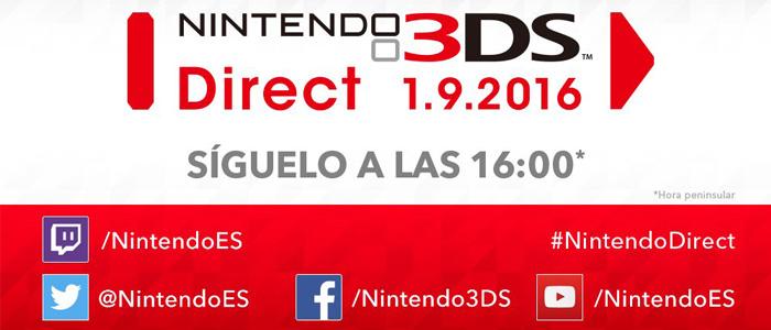 Sigue el Nintendo 3DS Direct con nosotros