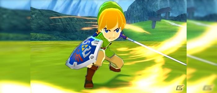Detalles del contenido de Zelda para Monster Hunter Stories